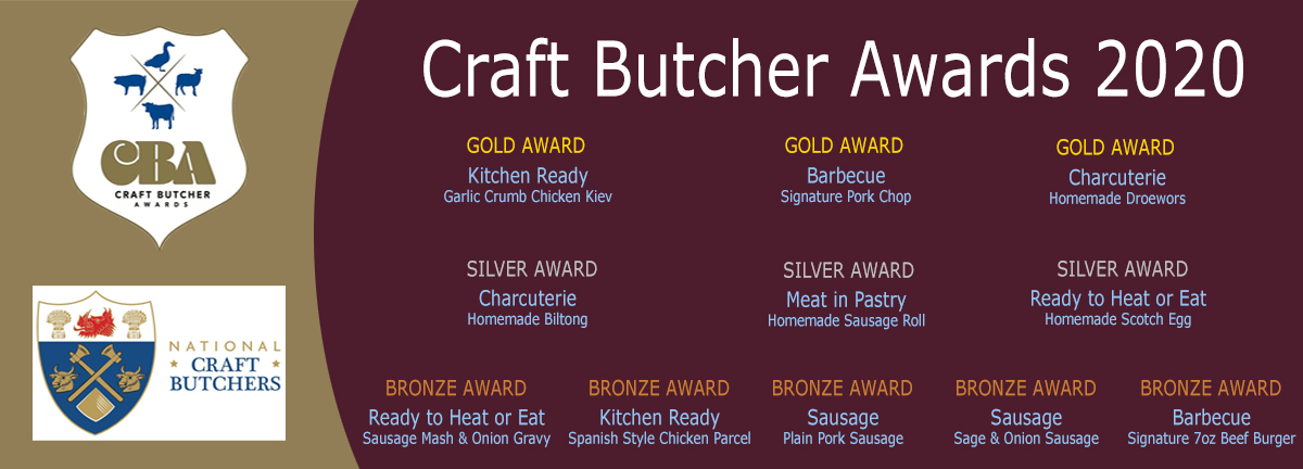 Craft Butcher Awards Slider