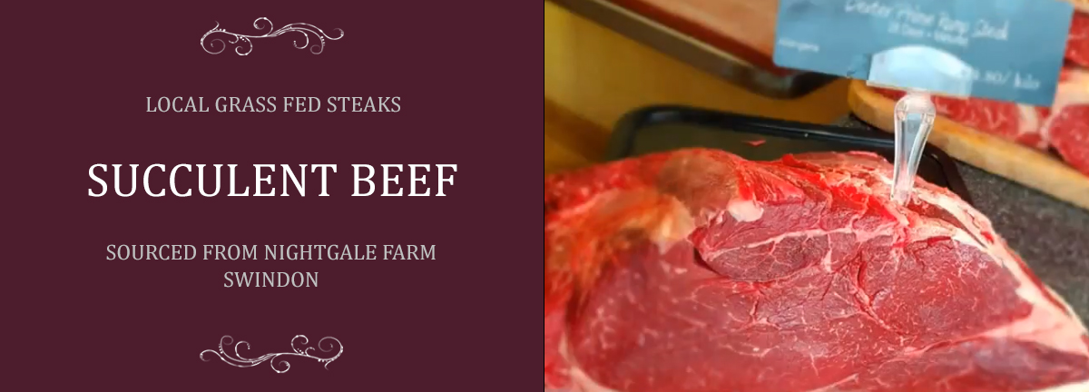 Succulent Grass Fed Beef