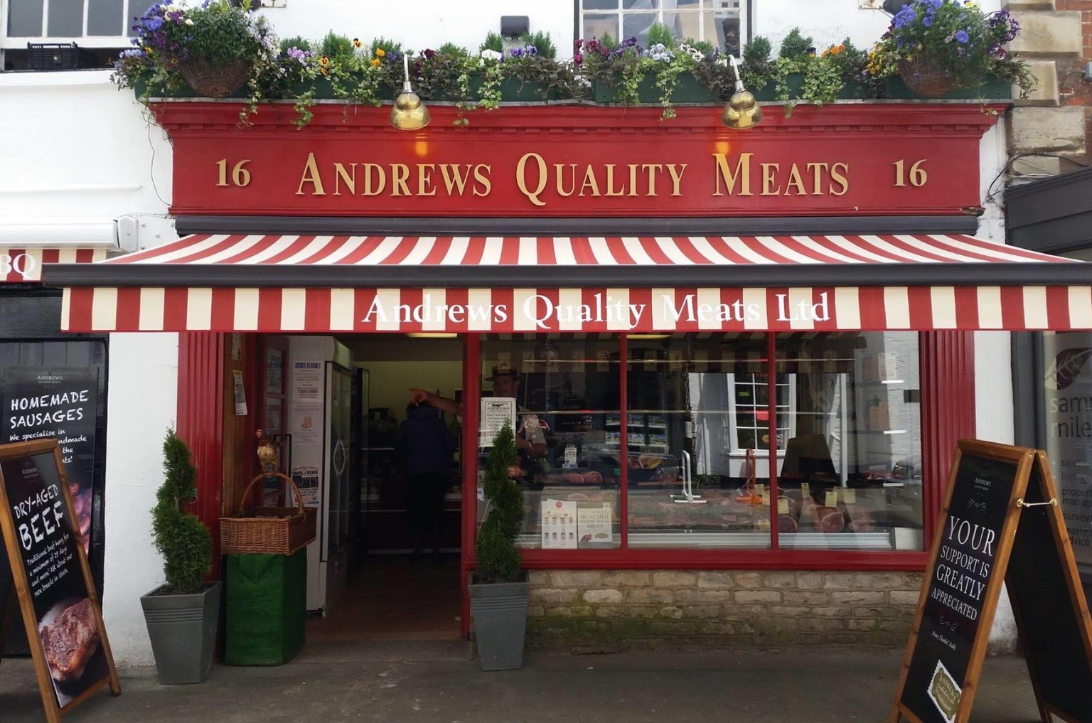 Andrews Quality Butchers Highworth